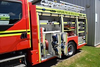New fire engine