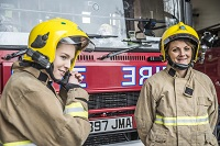 Fire fighter women