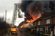 Astonfields Staffs Fire