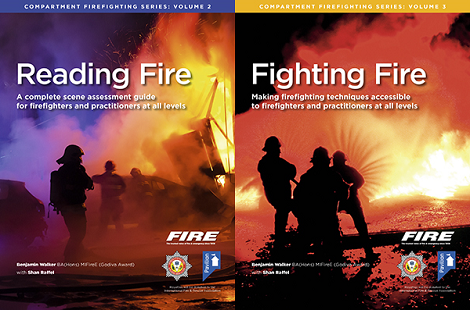 Reading Fire and Fighting Fire covers