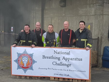 Fire team win national challenge
