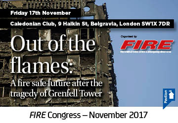 Working towards a fire safe future after the Grenfell tragedy