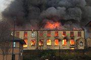 Batley mill fire 180