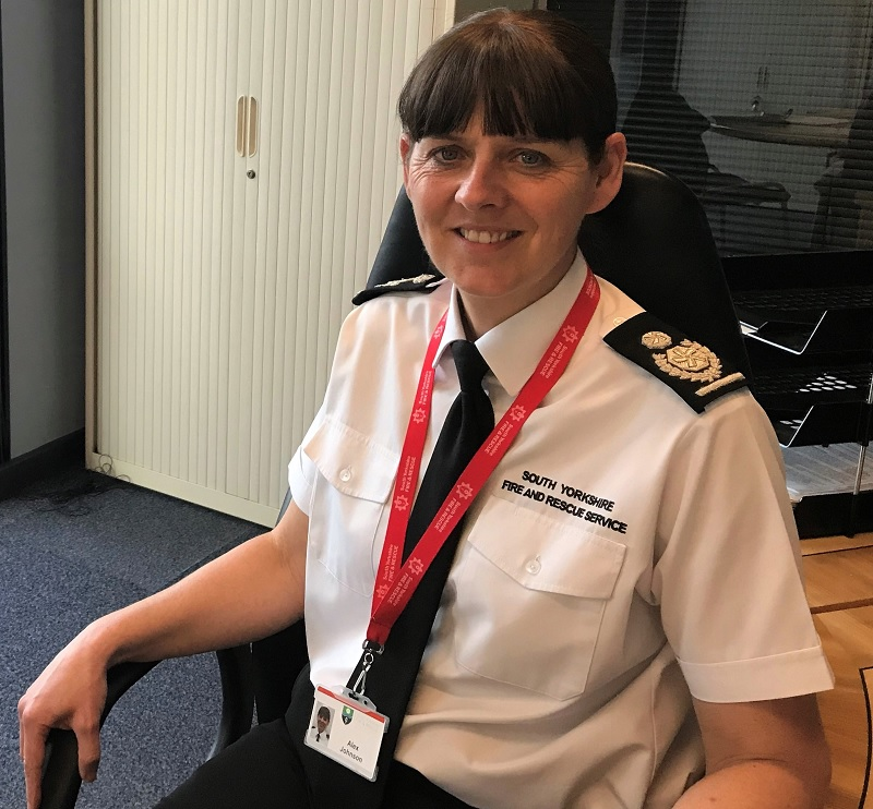 New Deputy Fire Chief for South Yorkshire - Alex Johnson