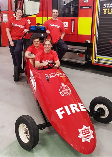 bobsleigh fire engine
