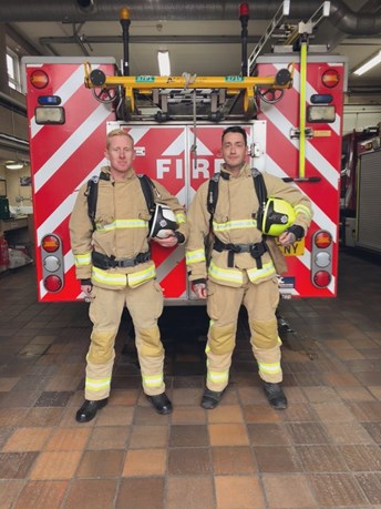 Shoreham firefighters