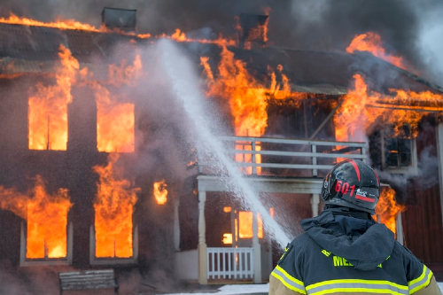 Natural disasters and fire safety in the home