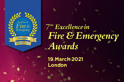 New date, same venue for Excellence in Fire & Emergency Awards