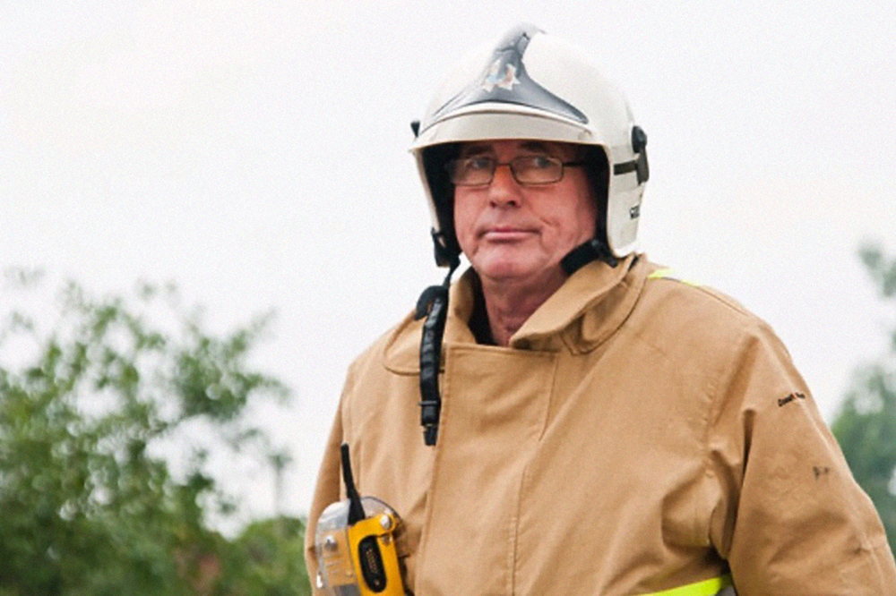 West Sussex Fire & Rescue Service's longest serving firefighter to retire