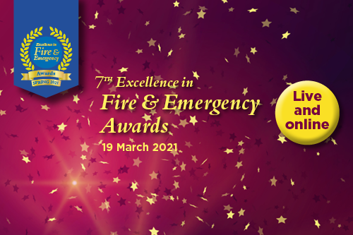 Live and online: Excellence in Fire & Emergency Awards Spring 2021