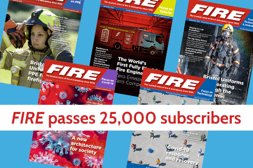 FIRE magazine passes remarkable milestone of 25,000 readers